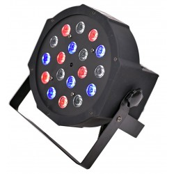 LED PAR FLAT 18x3W RGB LIGHT4me