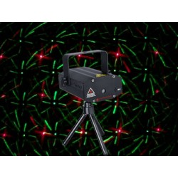 MINI LASER STARS RED GREEN