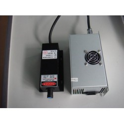 GREEN LASER MODULE 500 MV 532 WITH POWER SUPPLY