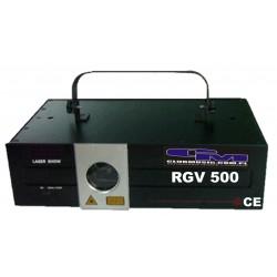LASER KOLOROWY  500MV RGV RGB