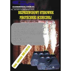 WIRELESS CONTROLLER FOR stage pyrotechnics
