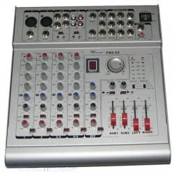 Mikser PMX-6S+wzm. 2x210W 6 kanałów