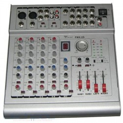 Mixer PMX-6S + Amp. 2x210W 6 channels