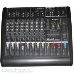 Mixer PMQ-2110 + Amp. 2x250W 10 channels